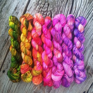 Fingering Weight Gradients 7 x 30g (770 yds) (Non-sock yarns)