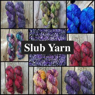 Slub Yarn (Fingering Weight)